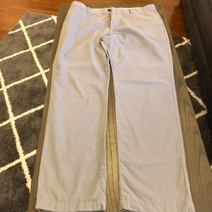 Gap Men's Khakis Light Gray Size 36x34